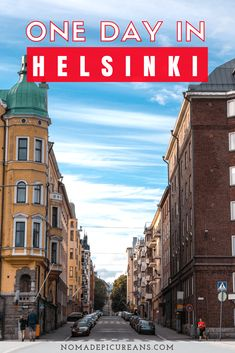 Learn how to spend one day in Helsinki, Finland with our itinerary. Our self-guided walking tour of Helsinki will lead you past the city's main sights, shops, and attractions. #travel #finland #helsinki
