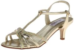 Dyeables Womens Lindsey Dress SandalGold Metallic75 B US >>> Check out this great product.