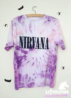 tie-die t-shirt nirvana