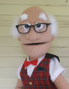 Grandpa Mac by PJs Puppets