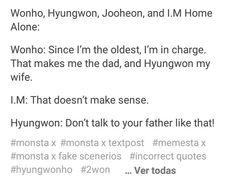 #몬스타엑스 #MonstaX #Monbebe #Wonho #Hyungwon #ShinHoSeok #Shownu #Kihyun #ImChankyun #IM #Jooheon #Minhyuk #Starship #Starshipentertainment #Monsta_X #Monstagram #셔누 #원호 #민혁 #기현 #형원 #주헌 #아이엠 #Memes #MemesMonstaX #MemestaX #2won #HyungWonho