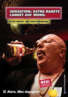 Bilder: Astra - Werbeplakate