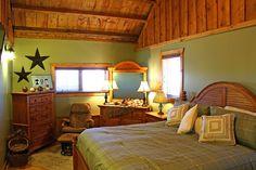Bedroom in a Barn Home  www.sandcreekpostandbeam.com   https://www.facebook.com/pages/Sand-Creek-Post-Beam-Traditional-Post-Beam-Barn-Kits/66631959179