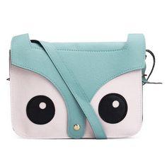 Stylish Lovely Retro Fox Messenger Shoulder Bag Crossbody Bag