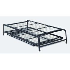 pop up trundle bed pop up trundle daybed 39 x 74 top spring with - Queen Trundle Bed Frame