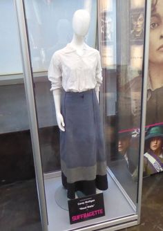 Maud Watts Suffragette film costume