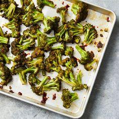 Honey-Chipotle Roasted Broccoli Glazed Vegetables, Lentil Recipes, Roasted Vegetables, Veggie Recipes, Veggies, Cooking Recipes, Healthy Recipes, Side Recipes