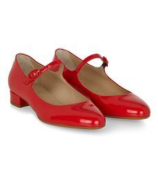 Mary Jane Shoes | T Bar Shoes | Red Mary Jane Shoes | Black T Bar Shoes | Hobbs