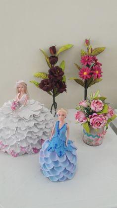 Bonecas com vestidos de EVA Escolha o seu modelo e nos consulte.