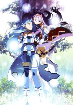 Sword Art Online, Asuna & Yuuki, official art