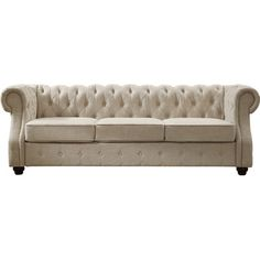 You Ll Love The Olivia Tufted Sofa At Wayfair Great Deals On All Furniture