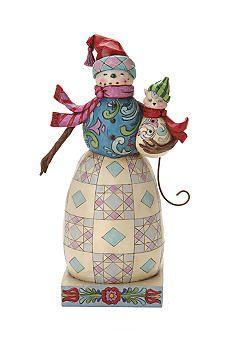 Jim Shore Snowman Figurine