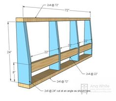 Architecture: Sofa Frame Plans Amazing Ana White Storage DIY Projects Within 8 from Sofa Frame Plans Diy Sofa, Diy Chair, Ana White, Black White, Furniture Plans, Diy Furniture, Furniture Stores, Build Your Own Sofa, Built In Couch