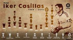 Los 10 momentos de Iker Casillas con el Real Madrid | Noticias | Liga de Fútbol Profesional