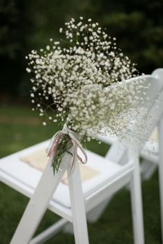 aisle flowers- options if no shepards hooks? Wedding Chairs, Wedding Table, Fall Wedding, Wedding Ceremony, Our Wedding, Dream Wedding, Wedding Stuff, Floral Wedding, Wedding Flowers