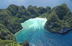 bahia maya playa de singular belleza en Kho Phi Phi Leh