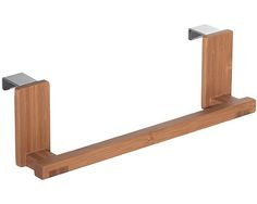 The Formbu Over the Cabinet Towel Bar is a great way to keep your kitchen towel at your fingertips and off the counter.
