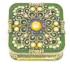Jeweled Green Box