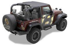 Bestop Header Bikini Top for 10-16 Jeep Wrangler JK 2 Door