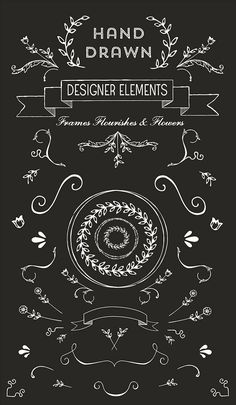 free hand drawn logo vectors and clip art: