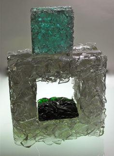 cast bottle glass sculpture bryan northup