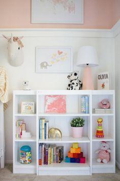 Project Nursery - Millennial Pink Nursery storage