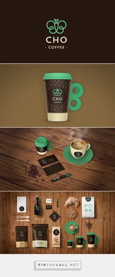 CHO Coffee brand ID by Carlota Vidal Cantavella curated by Packaging Diva PD.