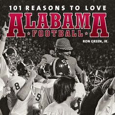 There is football. There is college football. And then there is Alabama Crimson Tide football.Perhaps more than any other athletic program, Alabama football reaches beyond the field and the scoreboard and into the lives and legacies of a region boun Crimson Tide Football, Alabama Football, Alabama Crimson Tide, Alabama Baby, College Football Coaches, Nick Saban, Thing 1, University Of Alabama, Fantasy Football