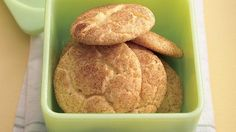 Snickerdoodles from a cake mix!