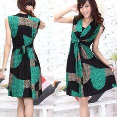 Summer Sleeveless Women New Korea Party Mini Dress Beach Tunic  - $33