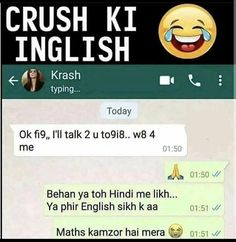 34 Ideas Funny Messages For Kids Schools Latest Funny Jokes, Funny Jokes In Hindi, Very Funny Jokes, Crazy Funny Memes, Really Funny Memes, Funny Facts, Sms Jokes, Funny Chat, Crazy Jokes