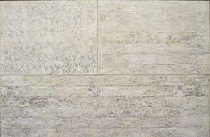 jasper johns white flag painting