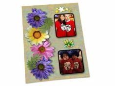 """Shared Project--My scrapbook page of """"Thing One and Thing Two"""""""