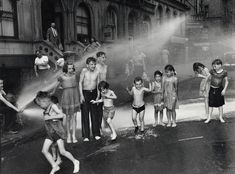 Summer, The Lower East Side, 1937 by Arthur Felig