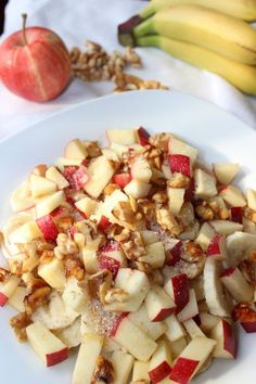 Basic muesli with crunch - basenfasten Rezepte - Smoothie Recipes Detox Recipes, Raw Food Recipes, Healthy Recipes, Healthy Food, Recipes Dinner, Paleo Breakfast, Breakfast Recipes, Alkaline Breakfast, Breakfast Cereal