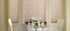 Pleated Shades - contemporary - Dining Room - Other Metro - Accent Window Fashions LLC #Hunter_Douglas #Pleated_Shades #WindowTreatments #HunterDouglas