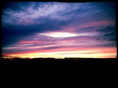 #sunset#pretty#colors#nature