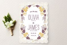 My LuxeFinds: Wedding Guide - Pretty Wedding Invitations & Save the Dates