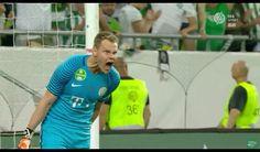 Dénes Dibusz saved the penalty