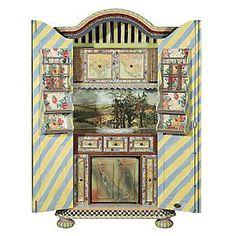 Painted Furniture Armoires Secretaries Bookcases