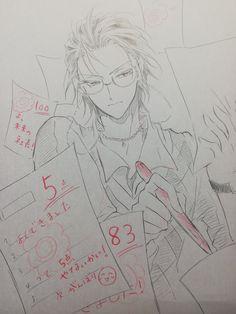 "555 on Twitter: ""オオサカさんのらくがきを…… "" Anime People, Anime Guys, Manga Art, Anime Art, Anime Hairstyles Male, Hi Welcome To Chili's, Boy Cat, I Luv U, Fanarts Anime"