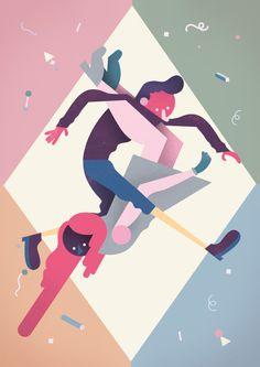 Rune Fisker, Illustration, Character