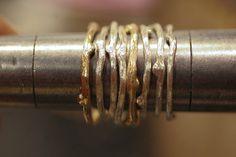 1 Twig Ring Solid 14k Gold by SaaraReidsema on Etsy, $120.00