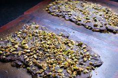 pistachio chocolate toffee