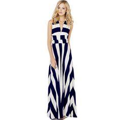39,90EUR Kleid Wickelkleid blau weiss