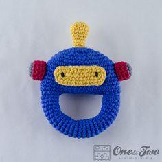 Hoi! Ik heb een geweldige listing gevonden op Etsy https://www.etsy.com/nl/listing/174140457/robot-rattle-pdf-crochet-pattern-instant