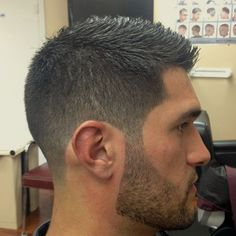 Great hair to sides transition.. Nice