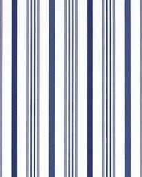 Tapet Saville Stripe Indigo från Ralph Lauren