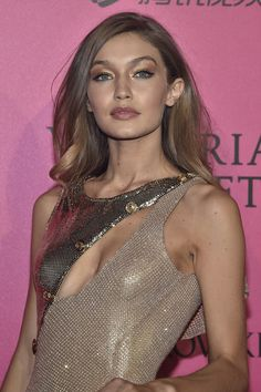 Gigi Hadid attends the 2016 Victoria's Secret Fashion Show after party on November 30, 2016 in Paris, France.