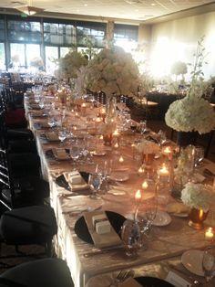 Reception at Stockton Golf & Country Club. Royal table.
